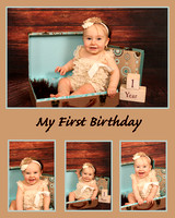 Maddison 1st Birthday